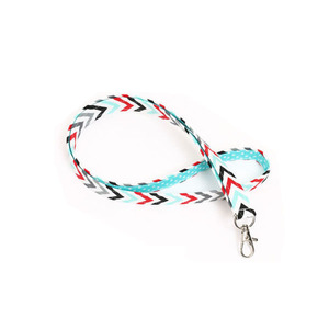 Quality assurance environmental protection colorful lanyard
