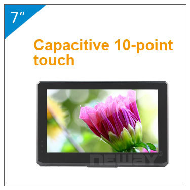 "mulit function 5 Wire resistive touch LCD 10.1"" monitor"