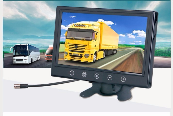 mini 9 inch 4 Screen Stand-alone Car TFT LCD Monitor