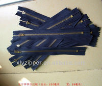 Special offers bronze teeth zipper for jeans