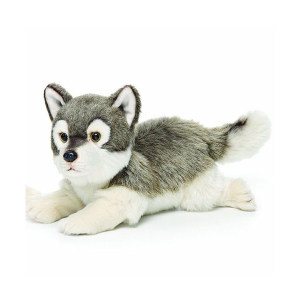 En71 Astm New Design White Wolf Plush Toy Buy White Wolf