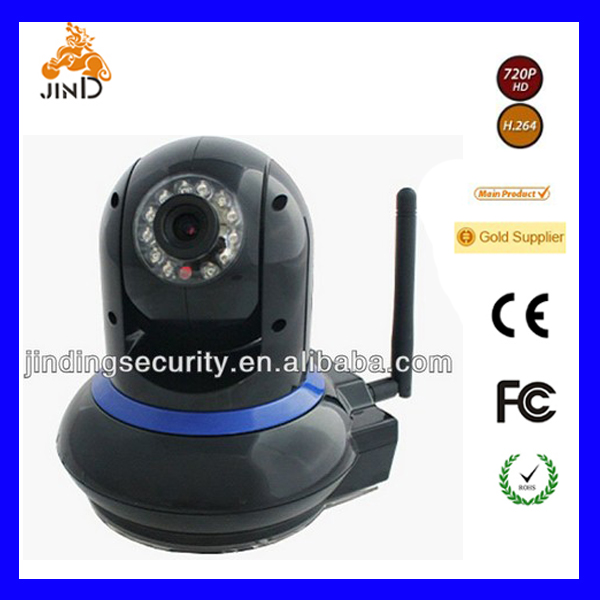 Ipcam WIFI Home Security Surveillance Bullet IP Camera (JD-EYE02W)