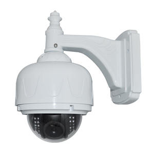 "4"" Waterproof Vandalproof PAN/TILT outdoor cctv housing (700TVL, 420TVL),20M IR Outdoor"