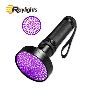 UV Black Light Flashlight 100 LED Best UV Light and Blacklight For Home & Hotel Inspection, Pet Urine & Stains