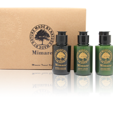MIMARE 60ml essential oil,conditioner,shower gel for travel size