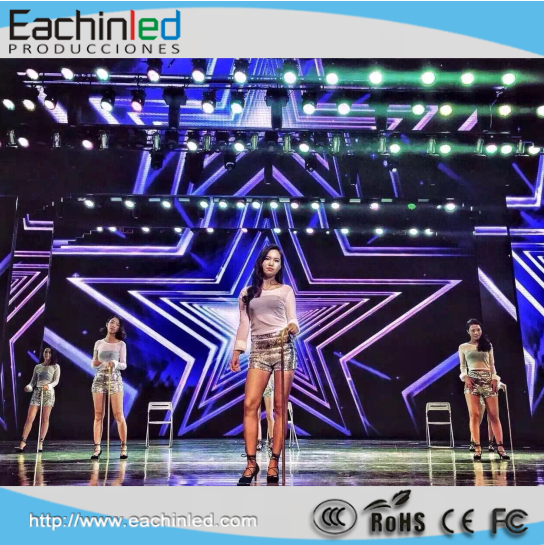 4mm Fashion HD Super Thin Portable LED Stage Screen