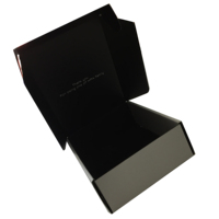 High quality recycle material gift box for clothes and shoes display