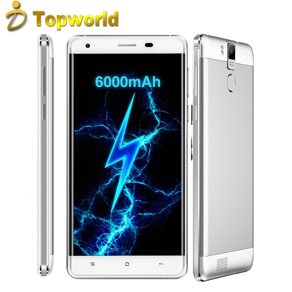 Оригинал K6000 Oukitel Pro Сотовый Телефон Android 6.0 MTK6753 Octa Ядро  брызг 3 Г RAM 32 d41ac403457