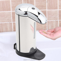 Wall Mount Automatic Soap Sanitizer Dispenser Infrared Hands Free 3 Modes 500ml
