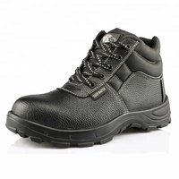 Tiger master brand cheap leather steel toe industrial shoes safety