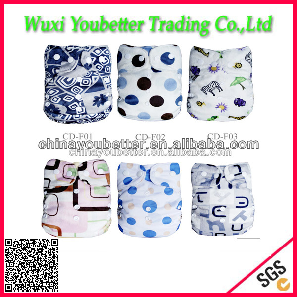 Modern Cloth Diaper Minky Diapers Factory Direct