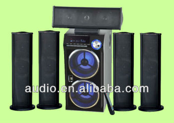 Sub Woofer 5.1 With Usb/sd,Fm,Remote,Vfd Display