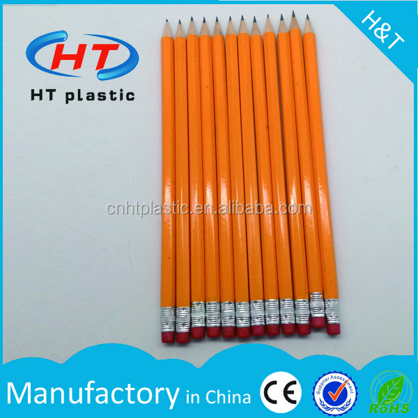 HTPE256 Top Quality For Promotion OEM Manufacturer HB wooden pencil for school/office