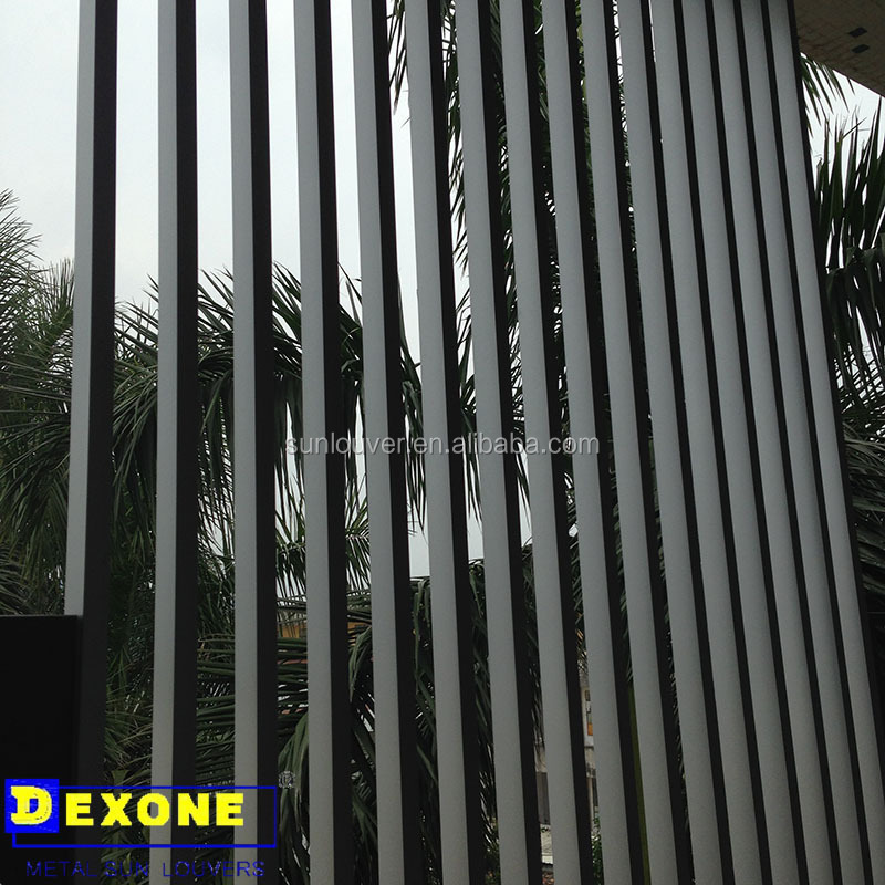 Exterior aluminium box louver as fence panels buy