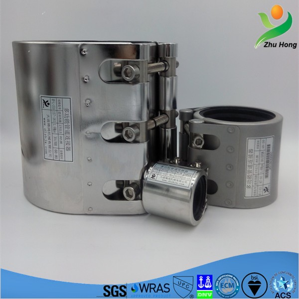Mf S Two Pipes Repair Connector Making Machinery Epdm