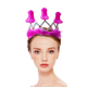 2018 Novelty Rose Bachelorette Crown Penis Tiara For Hen Party Supplies