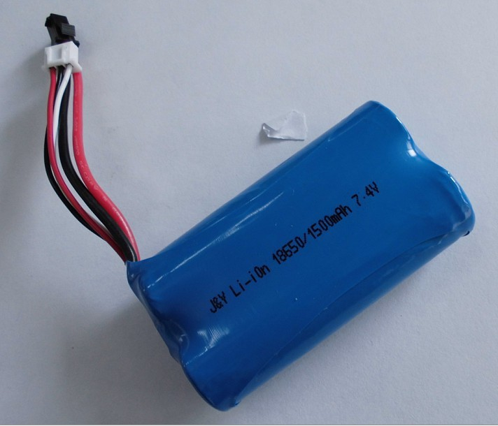 2 Cell Li Ion Lithium 18650 7 4v 2800mah Rechargeable