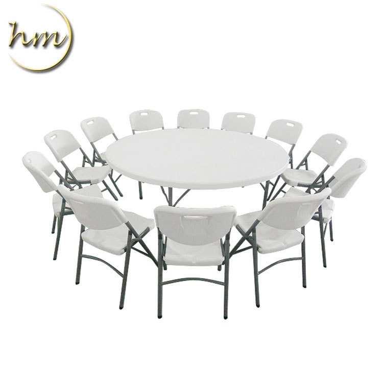 Hot Sale Plastic Folding Used Outdoor <strong>Table</strong> And Chair In Foshan
