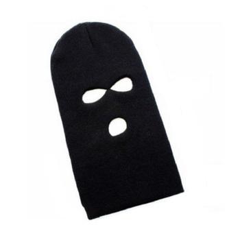 Classic Unisex Knitting Pattern 3 Holes Tactical Face Mask Balaclava