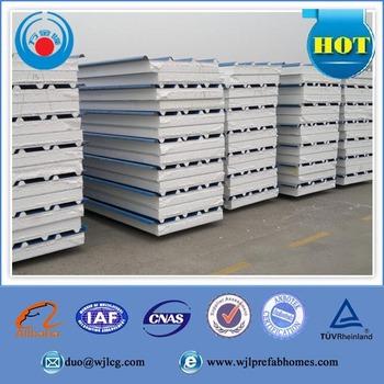 Low Cost Building Materials Sandwich Panel Prefab Sip Construction