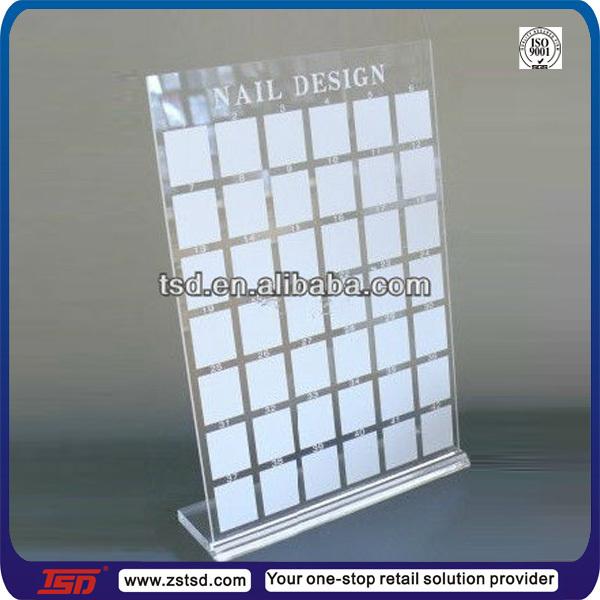 Tafelblad Acryl Tsd A945 Nagelsalon Nail Art Design Display Board