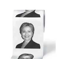 Custom Printed Donald Trump Hilary Standard Roll Toilet Paper Tissue
