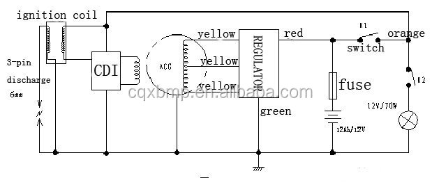 Brand New Motorcycle Voltage Rectifier Regulator For Xv250 Buy – Xv250 Wiring-diagram