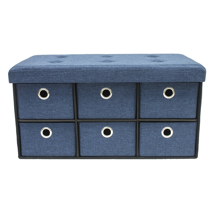 Collapsible Storage Cubes Organizer Folding Chest Of Drawers
