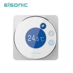smart home thermostat wifi touch thermostatic programmable wireless adjustable bimetallic room thermostat