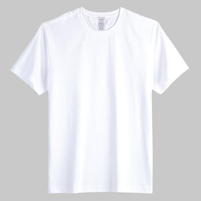 China Manufacturer Tall Wholesale 100% Cotton White Plain T Shirt ...