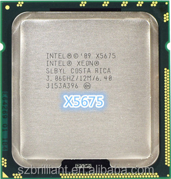 6-Core 12M SLBYL CPU Processor Intel Xeon X5675 3.06GHz LGA 1366-B