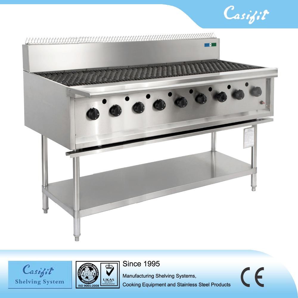 Commercial Kitchen Equipment Product ~ Restaurant equipment electric barbecue gas grill machine