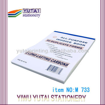 customized invoice books carbonless receipt books buy commercial