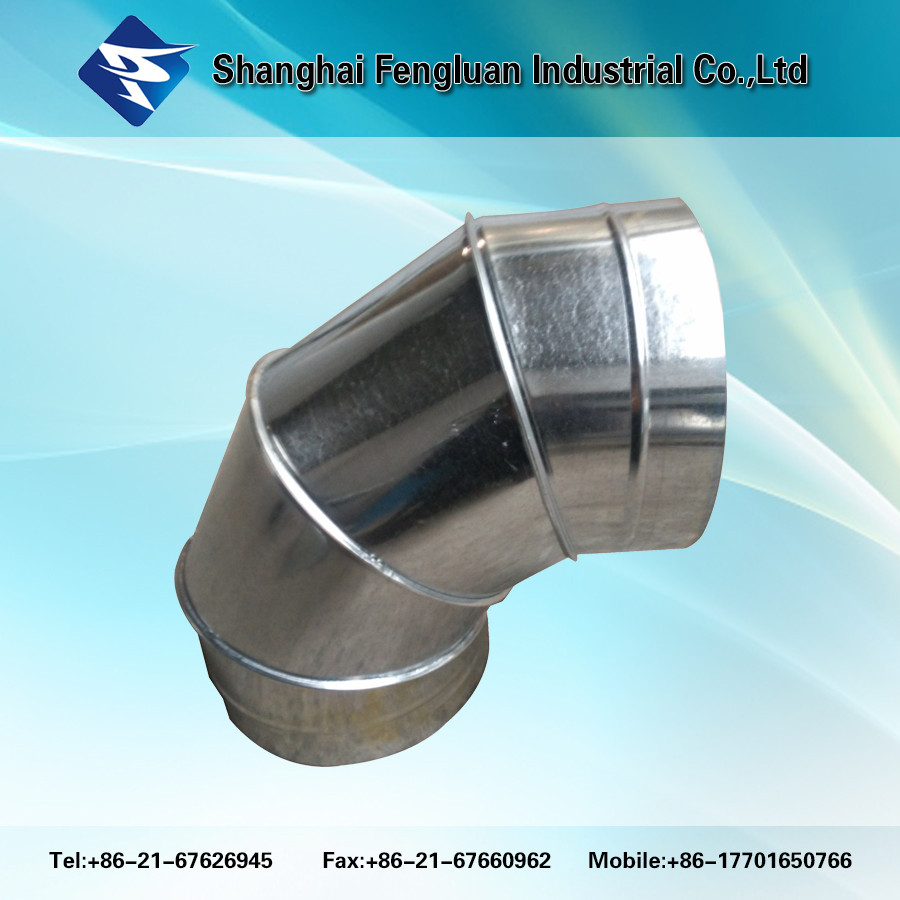 Hvac fittings spiral round duct pipe buy air