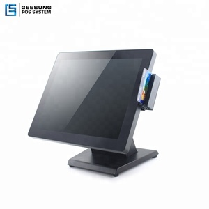 New capacitive Touch Screen POS Terminal / POS System / cash register with true flat screen