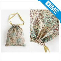 Cotton Material and Screen Printing Surface Handling Indian Cotton Pouch Bag