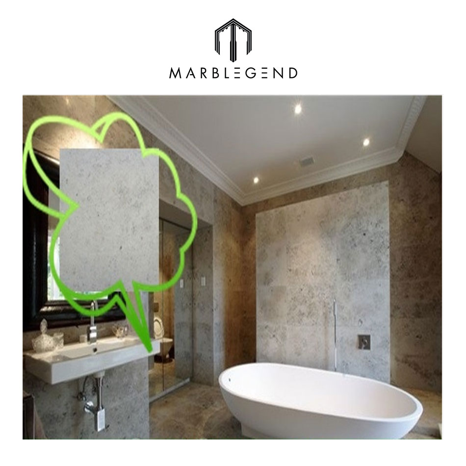 Bathroom cost-effrctive ideas customized jura grey limestone tile