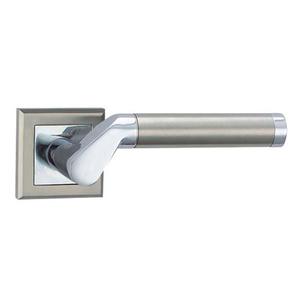 Russian market 2019 new design high quality zinc door lever handle on rose  Z1274E8