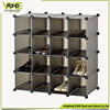 16 cubes plastic boot shoe cabinet/ simple shoe cabinet/ white shoe cabinets