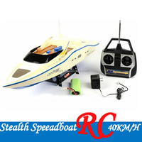 2.4G High Speed RC Boat Toy stealth boat 4 ch speed boat remote control 40KM/H RC toys wholesale