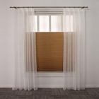 Light adjustment honeycomb pleated removable blinds jalousie window shade