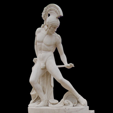 Manufacturer Marble decoration little boy garden statues