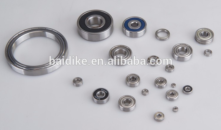 (BDC-NB001) OEM cuscinetti single row steel deep groove zz809 ball bearing