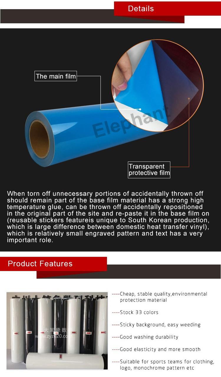 Korea Quality Reflective Heat Transfer Film For Textiles