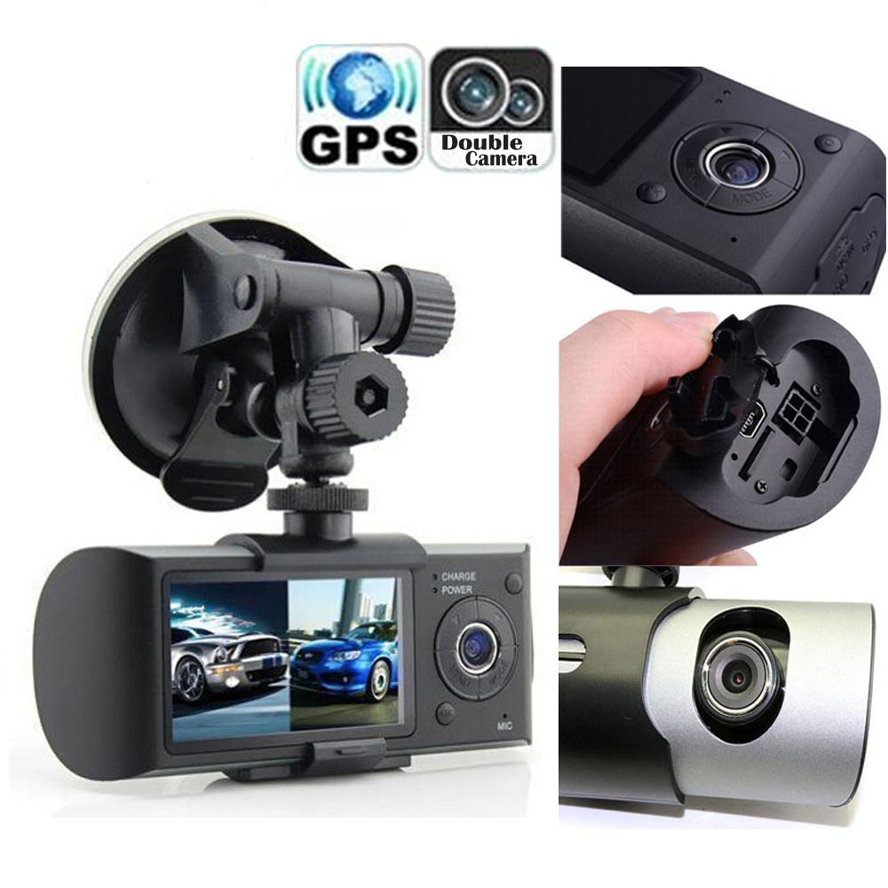 Автомобильный ВИДЕОРЕГИСТРАТОР R300 с GPS и 3D G-Sensor 2.7