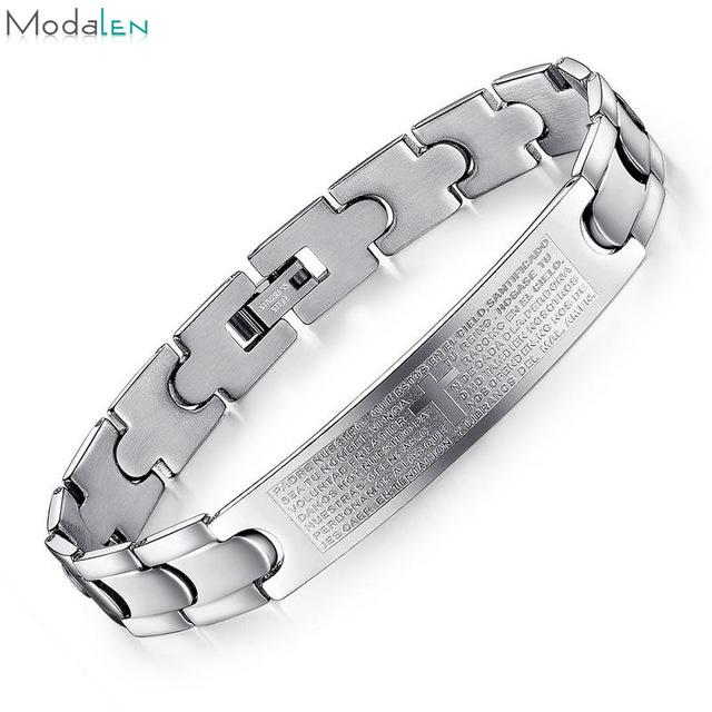 b560030b6fcb Venta al por mayor pulseras religiosas personalizadas-Compre online ...