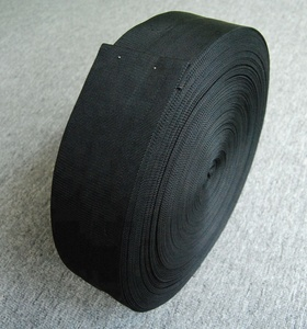 black Nylon textile sleeve for hydraulic hose protection