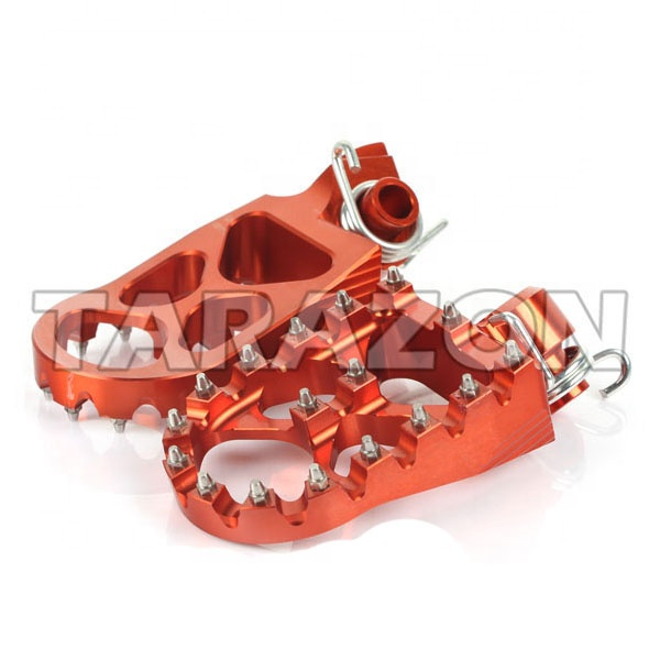 TITANIUM CNC FOOTPEG MOUNTING PIN CLIP SET KTM SMR560,690 DUKE,SXC625,SX85 SX65