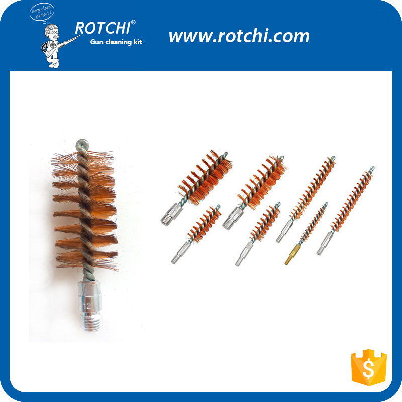 Steel wire bore brush , gun cleaning accessories , gun cleaning brush