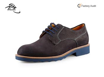 Zapatos De Cómodo Hombres Casual zapatos Nobuck Clásica Cuero KTJ1culF3